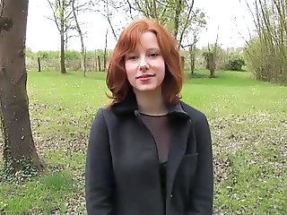Cute European French Outdoor Teen