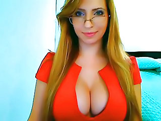 Glasses Long hair Natural Teen Webcam