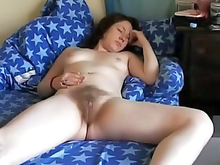 Hairy Sleeping Teen