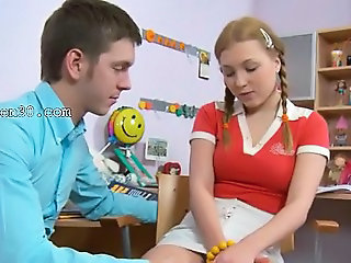 Pigtail Student Teacher Teen