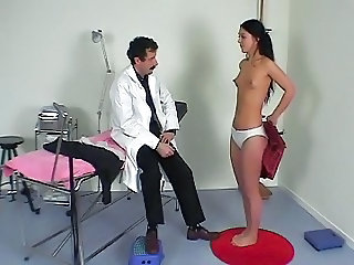 Doctor European French Panty Skinny Teen Uniform