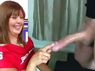 Big cock British Car European Handjob MILF