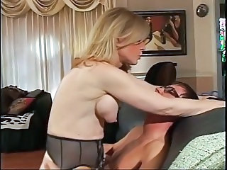 Big Tits Blonde Mature Riding Silicone Tits