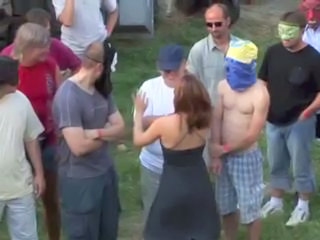 Gangbang Outdoor Party