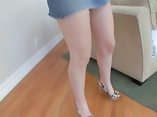 Amateur Legs Pov Skirt