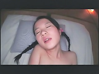 Asian Cute Pigtail Pov Teen Thai