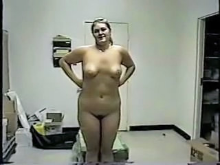 Amateur Chubby Homemade MILF Stripper