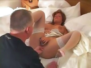 Amateur Bride Cuckold MILF Stockings Wife