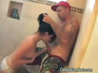 Blowjob Showers Teen