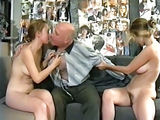 Daddy Daughter Family Hairy Old and Young Russian Teen Threesome Vintage