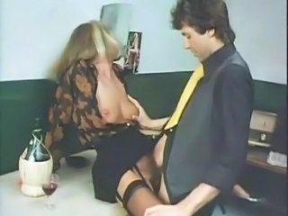 Clothed Hairy MILF Stockings Vintage