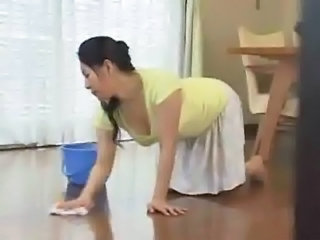 Asian Japanese MILF Mom Skirt Slave