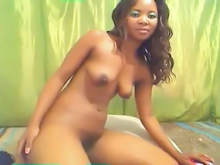 Ebony SaggyTits Teen Webcam