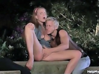 Masturbating Outdoor Teen Young