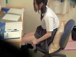 Asian Japanese School Teen Voyeur