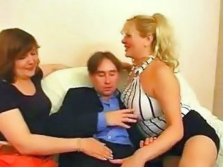 BBW Mature MILF Threesome