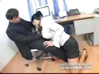 Blowjob Clothed Office Secretary