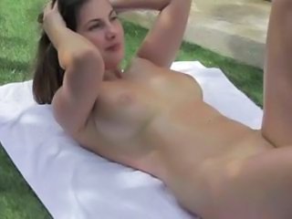 Outdoor Skinny Teen