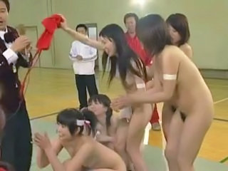 Asian Japanese Nudist School Sport