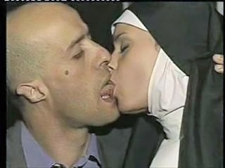 Bus Kissing Nun Uniform