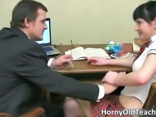 Cute Daddy Old and Young Student Teacher Teen