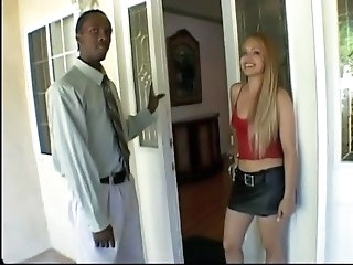 Cute Interracial Teen
