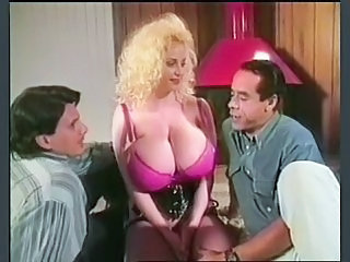 Big Tits MILF Office Silicone Tits Threesome Vintage