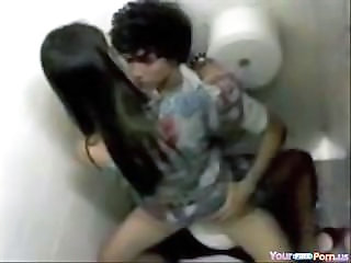 Amateur Girlfriend Teen Toilet