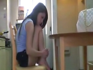 Asian Kitchen Sister Teen