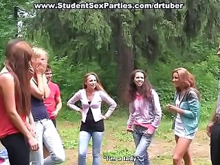 Amateur Anal Outdoor Party Student Teen