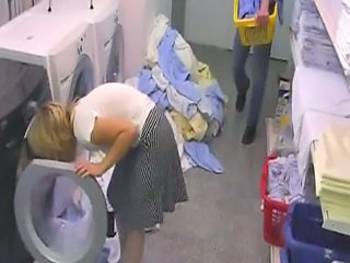 Bathroom European Granny Mature