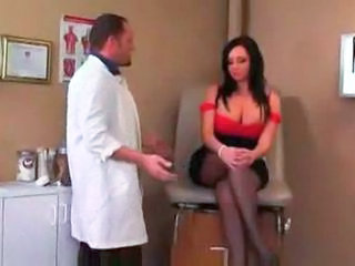 Big Tits Doctor MILF Stockings
