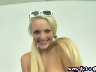 Cute Glasses Pigtail Teen