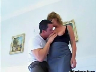 Blonde Licking Mature Wife