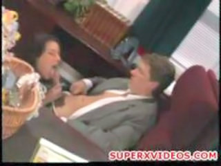 Blowjob MILF Office Vintage
