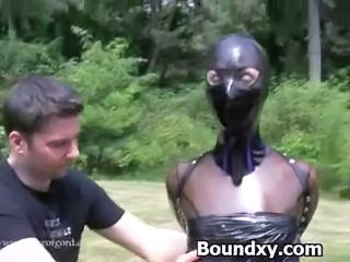 Bondage Latex Outdoor
