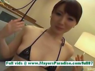 Yuu kaiba from idol69 amazing asian wife at home in bed