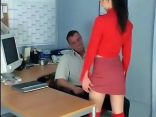 Office Secretary Skirt Teen