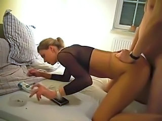 Amateur Doggystyle Homemade Smoking Wife