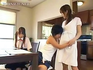 Asian Daughter Family Japanese Student Teen