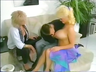 Big Tits European German Mature Threesome