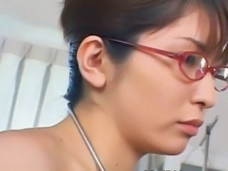 Asian Glasses Japanese Nurse