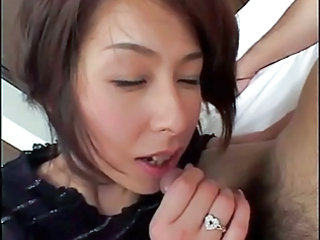 Asian Blowjob Japanese MILF Small cock
