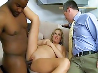 Big Tits Cuckold Interracial MILF Wife