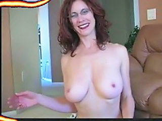Amateur Glasses MILF Natural Wife