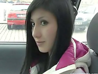 Amateur Car Cute European Pov Teen