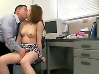Asian  Japanese Office Teen Voyeur