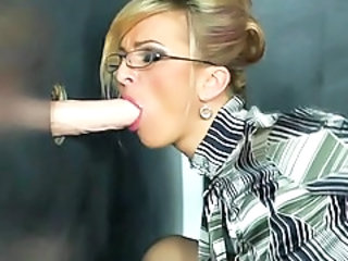Glasses Gloryhole Toy