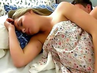 Cute Sleeping Teen