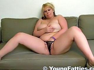 Big Tits Chubby Masturbating Natural Teen